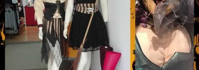 Isacha moda íntima presenta una colección especial Halloween.